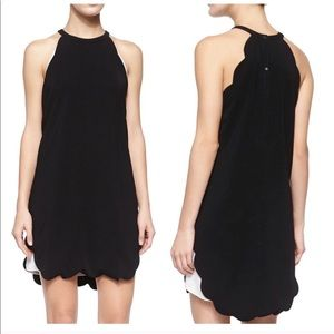 A.L.C. Scalloped Dress Black White Authentic